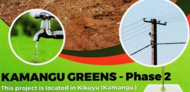 Kamangu greens phase II 50X100 PLOTS